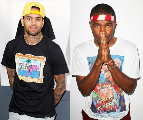 Chris Brown Frank Ocean Fight