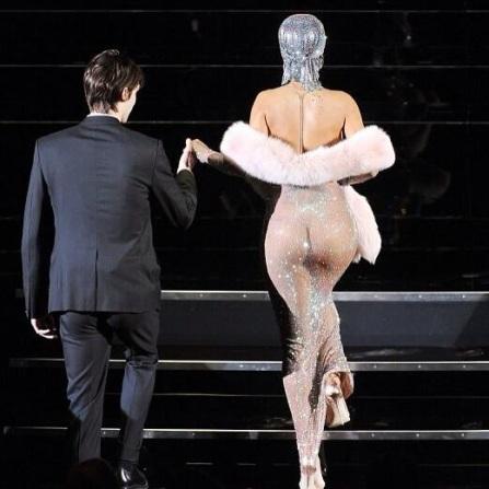 Rihanna CFDA Fashion Awards See Through Dress 2