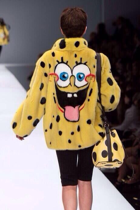 Moschino -  Sponge Bob Jacket