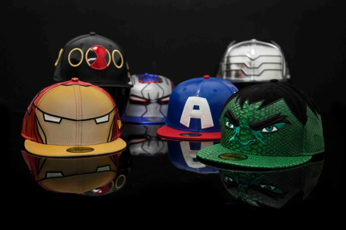 Avengers Age of Ultron x New Era 59FIFTY Cap Collection