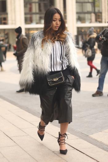 Black & White Fur