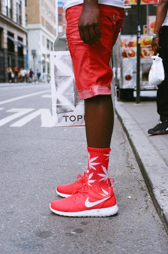 Huf Socks & Nike Roshe