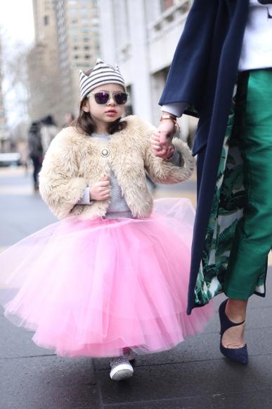 Little Girl TuTu Fur