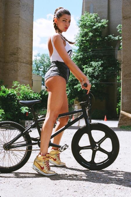 liza bike nikes 1