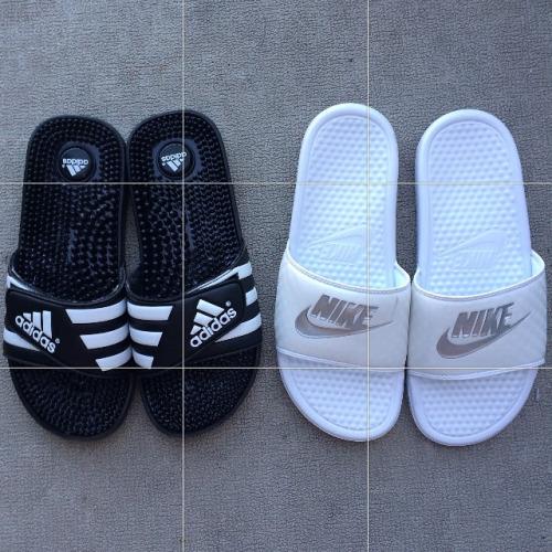 Nike or Addidas Flip Flops